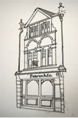 Drawing of the Woking Office (1999)
